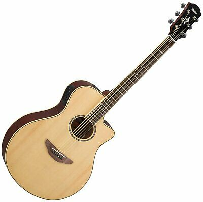 Yamaha APX600NT Thinline Acoustic Electric Guitar In Natural • 546.44£
