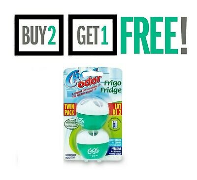 Croc Odor Twin Pack Fridge Fresh Deodoriser Neutraliser Odour Freshener Smells • 6.75£