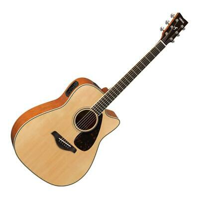 AU1248.95 • Buy Yamaha FGX820C Cutaway Acoustic-Electric Guitar - Natural