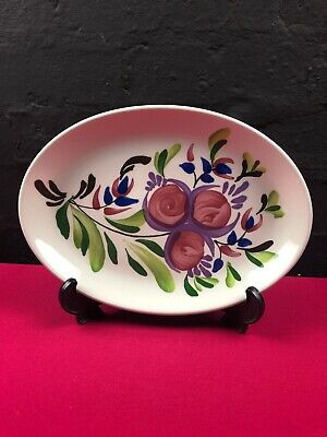 Portmeirion Welsh Dresser Oval Steak Dinner Plate 10.75  X 7.75  New 6 Available • 19.99£