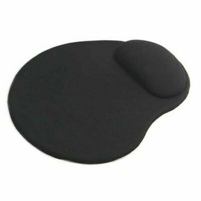 Computer  Black Comfort Wrist Gel Rest Support Mat Mouse Mice Pad For PCs Laptop • 3.19£