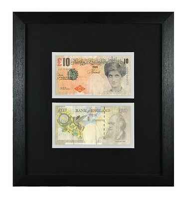 £19.95 • Buy 2 Framed & Mounted Banksy Di Faced Replica Tenners £10 Princess Diana Ten Pound