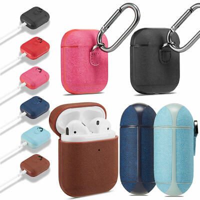 $ CDN11.84 • Buy AirPods Accessories Twill Shockproof  Portable Skin Case Cover For Airpods 2&1