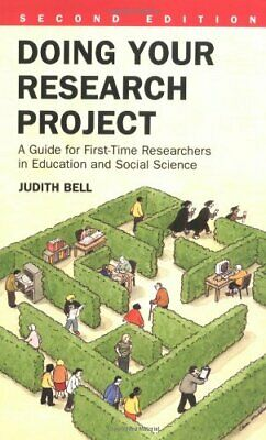 £3.29 • Buy Doing Your Research Project : A Guide For First-Time Researchers