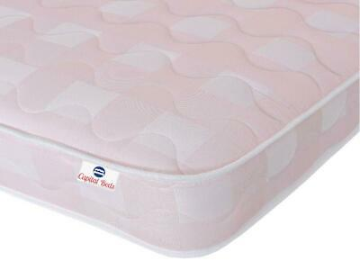 Memory Foam Spring Mattress, Girls Pink Mattress, Kids Bunk Bed Cabin Mattresses • 52.99£