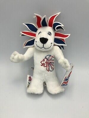 Team GB Olympic Mascots 20cm Team GB LION Mini Plush • 6£