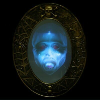 $ CDN73.57 • Buy Scary Halloween Mirror Haunted House Props Party Style Decoration Luminous Sound