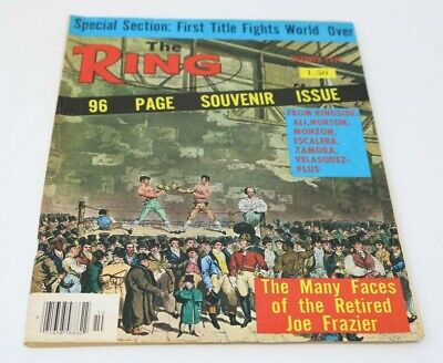 $9.97 • Buy The Ring Boxing Magazine October 1976 Joe Frazier Souvenir Issue