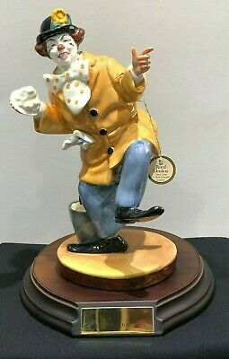 Very Rare Royal Doulton The Clown Hn 2890 With Plinth • 85£