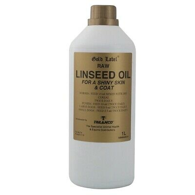 Gold Label Linseed Oil • 8.18£