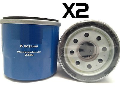 AU5.90 • Buy 2X Oil Filters Suits RYCO Z436 // (F436