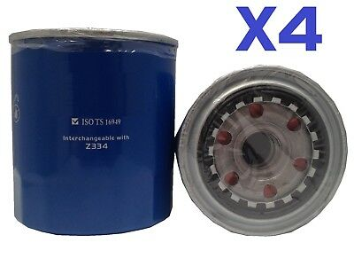 AU1019.90 • Buy 4X OIL FILTER Fits Z334 For TOYOTA LANDCRUISER HZJ105 100 SERIES DIE 4.2L 98-ON