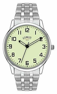 £14.99 • Buy Limit Men's Watch With Luminous Dial And Stainless Steel Bracelet 5685