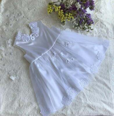 Princess Dress For Little Baby, Dress With Lace And Flowers  • 20.02£