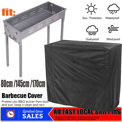 AU21.98 • Buy BBQ Grill Cover 2/4 Burner Waterproof Outdoor  Gas Charcoal Barbecue Protector