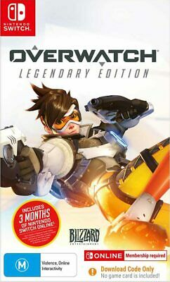 AU70.95 • Buy Overwatch Legendary Edition Switch Game NEW