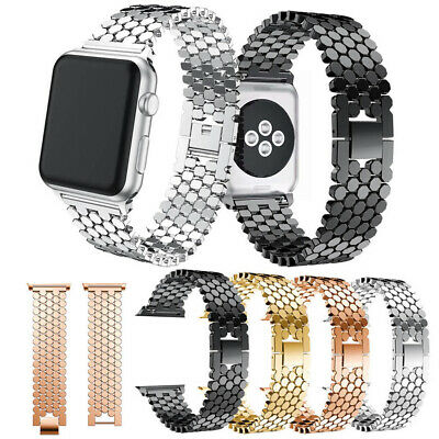 $ CDN5.25 • Buy Stainless Steel  Bracelet For Apple Watch Bands 38 42mm IWatch Series 5 4 3 2 1