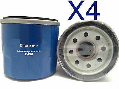 AU12 • Buy 4X Oil Filter Suits RYCO Z436 // (F436