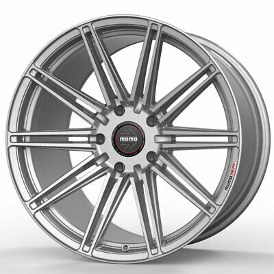 $2500 • Buy 20  MOMO RF-10S Silver 20x9 Forged Concave Wheels Rims Fits Jaguar S-Type