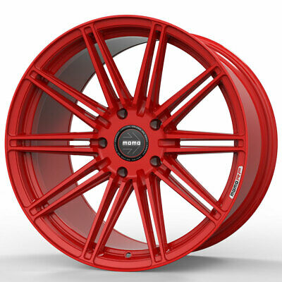 $2500 • Buy 20  MOMO RF-10S Red 20x9 Forged Concave Wheels Rims Fits Jaguar S-Type