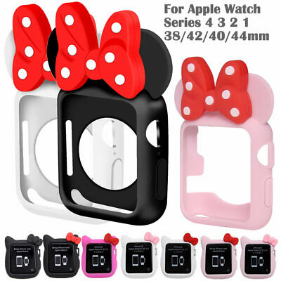$ CDN6.89 • Buy Hello Kitty Minnie Silicone Cover Case For Apple Watch Series 4 3 2 1 TPU Shell