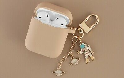 $ CDN10.44 • Buy Cosmic Astronaut Spaceman Silicone Case For Apple Airpods 1 2 Accessories Case