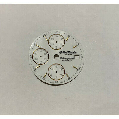 $49.77 • Buy Dial Valjoux 7750 Diameter 29 Mm New Old Stock (contact Spare Parts Valjoux 7750