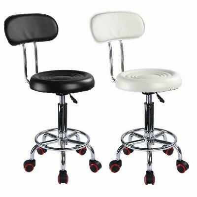 £20.99 • Buy New Salon Bar Stool Barber Tattoo Hairdresser Lift Swivel Chairs With Backrest