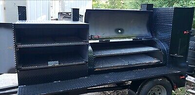 $3999 • Buy Pro Pitmaster BBQ Smoker 48 Grill Pit Cooker Catering Business Mobile Food Truck