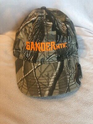 £9.83 • Buy Gander Mountain Hat Realtree Camouflage Men's Hunting Adj Cap With Bottle Opener