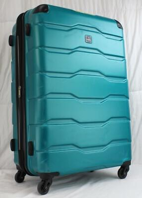 """View Details TAG MATRIX 2.0 28"""" EXPANDABLE HARDSIDE SPINNER SUITCASE TEAL USED • 59.00$"""