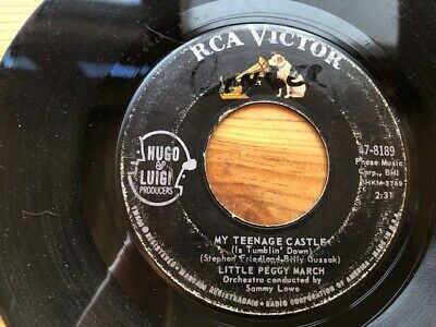 $ CDN6.62 • Buy LITTLE PEGGY MARCH  My Teenage Castle/I Wish I Were A Princess  RCA Rock 45rpm