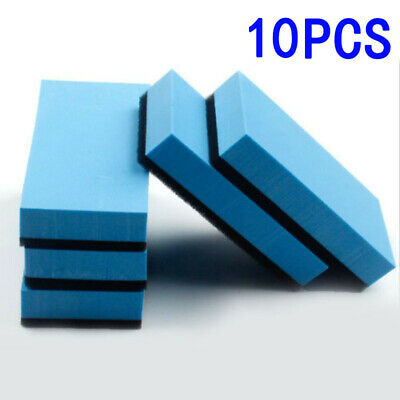 $8.36 • Buy Lot Of 10pcs Car Ceramic Coating Sponge Glass Nano Wax Coat Applicator Pad Kit