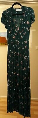 AU150 • Buy Arnhem Maxi Dress. Dark Green Floral. Sixe 8. Fitted.  Beautiful. New