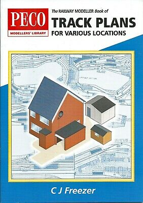 The Railway Modeller Book Of Track Plans For Various Locations By C. J. Freezer • 3.65£