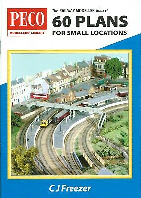 The Railway Modeller Book Of 60 Track Plans For Small Locations By C. J. Freezer • 3.99£