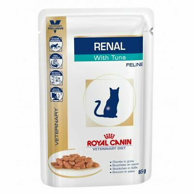 Royal Canin Veterinary Diet Feline Renal Wet Cat Food Tuna, 48 X 85g Pouch • 55.28£