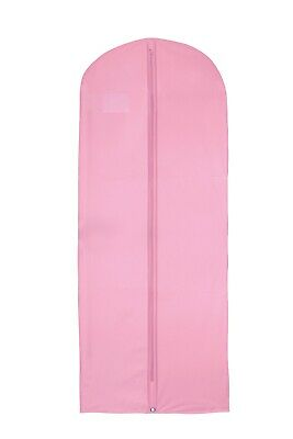 Hoesh Pink 54  Waterproof Skirt Top Suit Clothes Dress Cover Storage Garment Bag • 6.99£