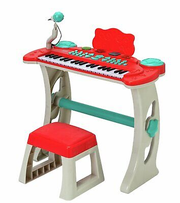 £48.99 • Buy Chad Valley Keyboard Stand And Stool - Red Kids Can Learn Music Fun Set Toy NEW