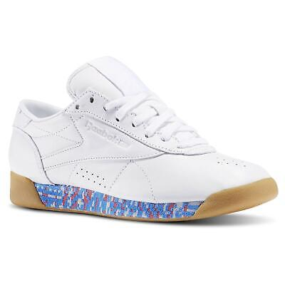 £44.99 • Buy Reebok Classics Women's Freestyle Lo 'old Meets New  Trainers Shoes Deadstock