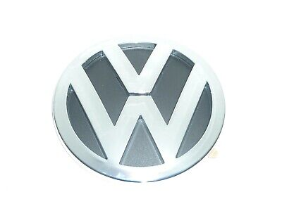 VW TOUAREG 2003-2010 REAR EMBLEM BADGE 7L6853630A DIAMETER 140mm • 12.95£