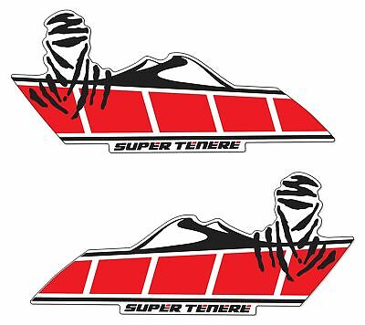 AU59.17 • Buy Stickers Side Resin Compatible With Yamaha Super Tenere - Red -