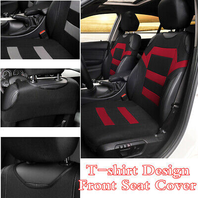 T-shirt Design Front Seat Cover Protector Cushion For Car Interior Accessories • 14.89£