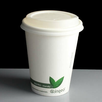 AU19.57 • Buy Disposable Recyclable Paper Cups Biodegradable Coffee Cups Compostable Cups