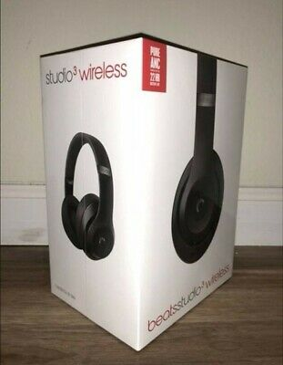 Beats By Dr. Dre Studio Wireless Headphones - Matte Black (Brand New) • 260£