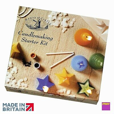 Make Your Own Candles Candle Making Starter Kit Craft Hobby Wax Moulds Gift   • 12.45£