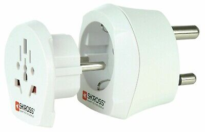AU16.06 • Buy Skross Mains Plug Travel Adapter Combo - World To South Africa - New