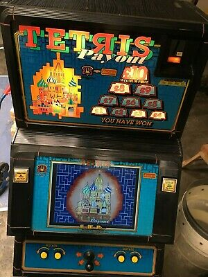 £745 • Buy Barcrest Tetris Coin Operated Swp Machine Fully Working Arcade Game In Hull