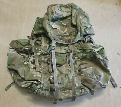 Genuine British Army Issue MTP Multicam Long Back Bergen & Side Pouches UK #404 • 69.95£
