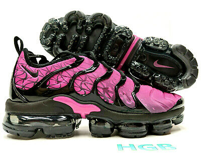$123.95 • Buy Nike Air Vapormax Plus Men's Black Fuchsia Pink Running Training 924453-603 NIB